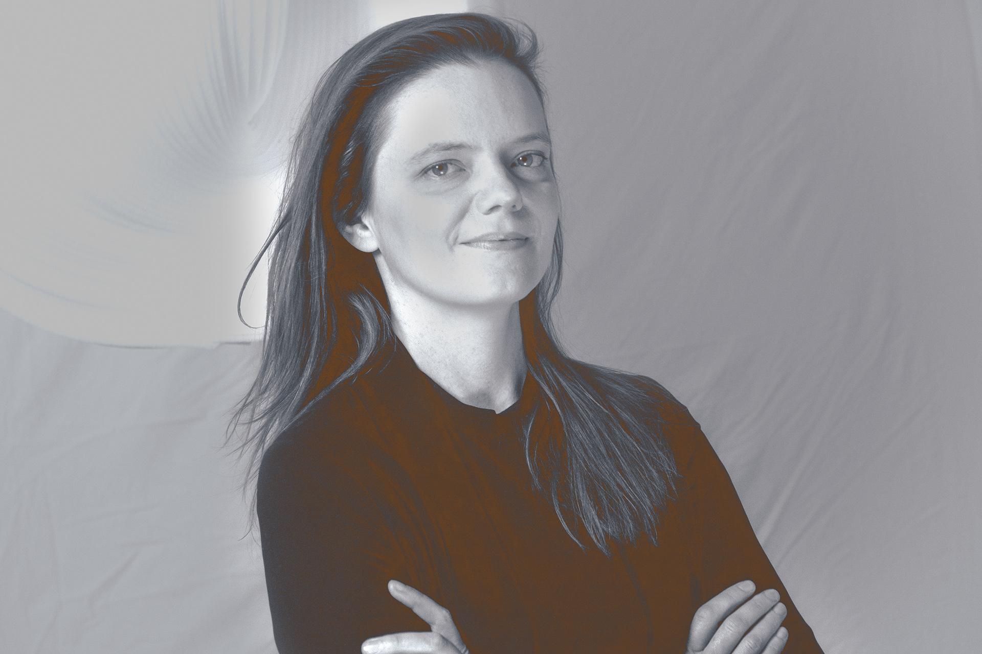 Daria Burlińska, projektantka prowadząca warszawską pracownię architektury wnętrz SZARA / studio