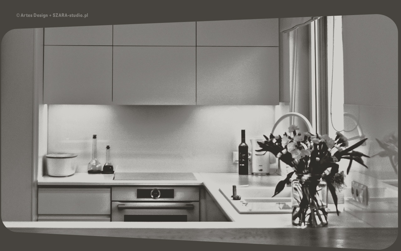 Architekci wnętrz: Taśma LED jako oświetlenie pod szafkami kuchennymi